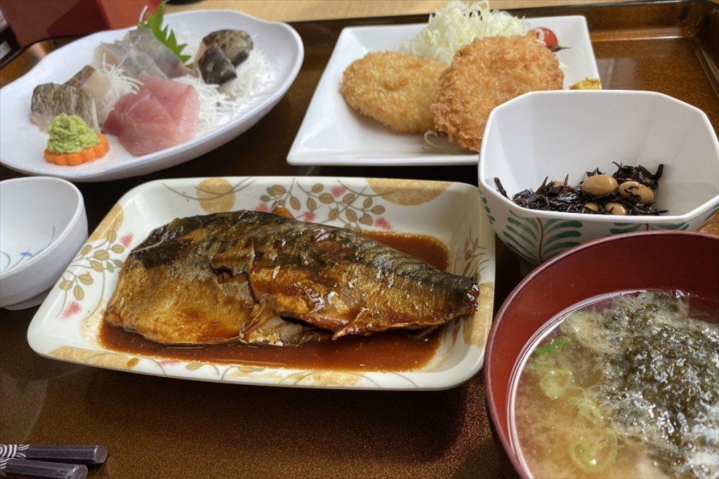 「まんぷく定食」の価格は1,800円(税込み)