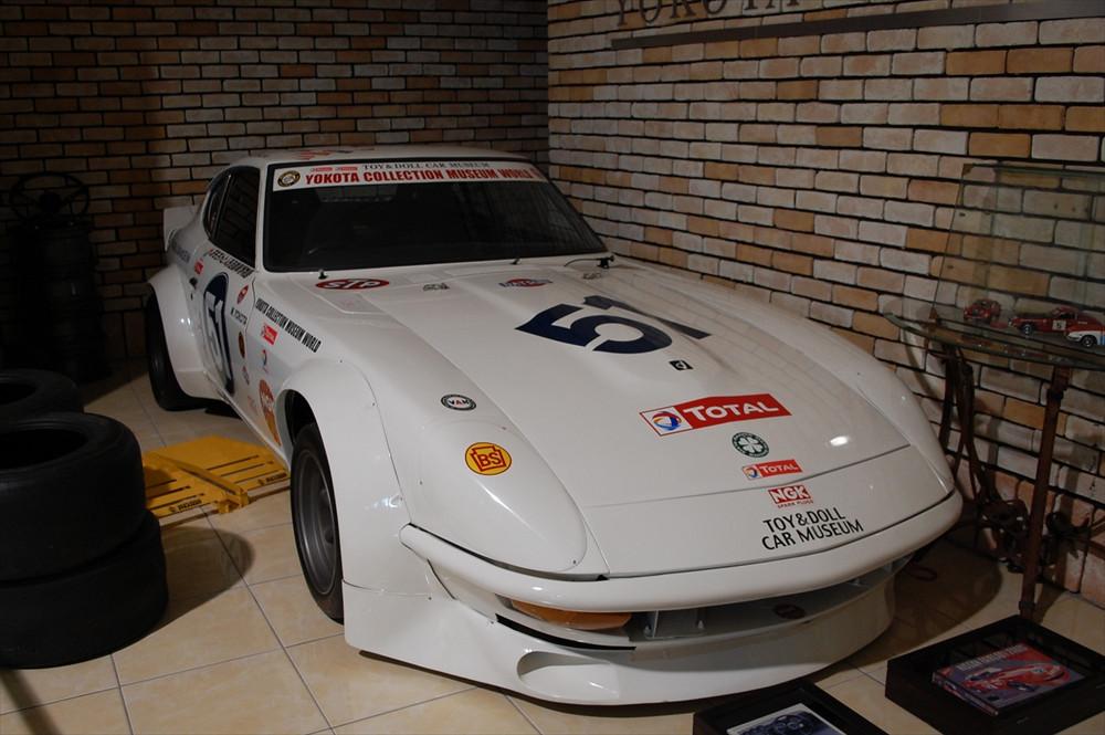 この日産「フェアレディZ」は、横田さんがアメリカの「ルート66」を走破する「グレートレース」に出走したときに乗った車両