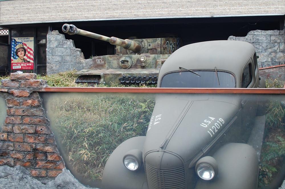 古くは「タイガー戦車」と呼ばれていたティーガー戦車。第二次世界大戦に活躍し、その名はあまりにも有名