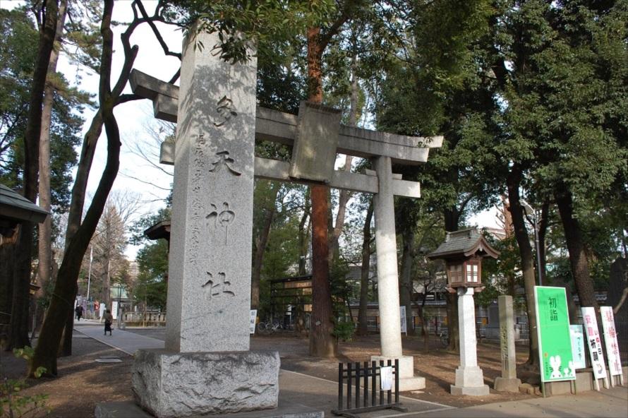 布多天神社の境内では、写真の撮影が禁止されている