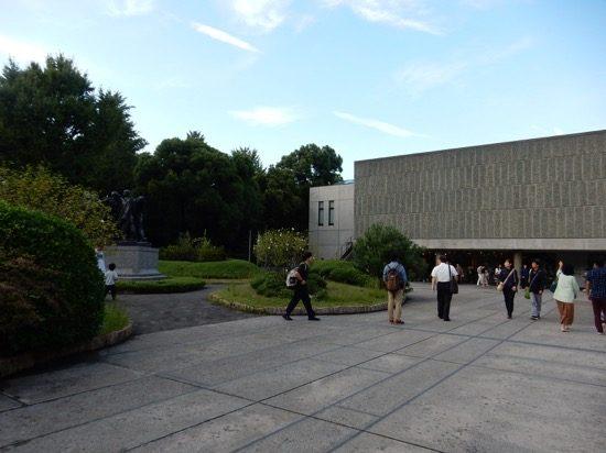 東京で初めての世界遺産に登録された「国立西洋美術館」