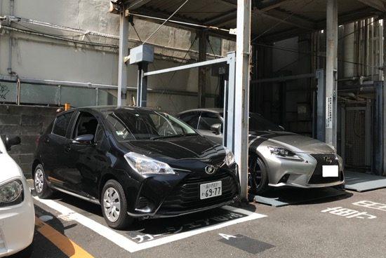 入出庫しやすい「リパーク渋谷3丁目第4」から都心をドライブ