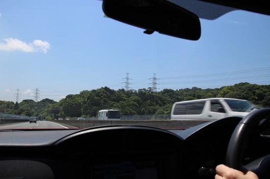 天気もよく、快適なドライブ