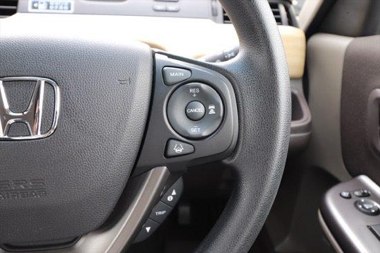 ハンドル右部のボタンで操作する