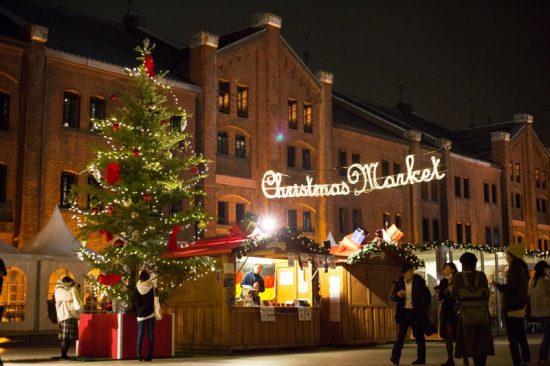 クリスマス関連のアイテムが手に入るクリスマスマーケット