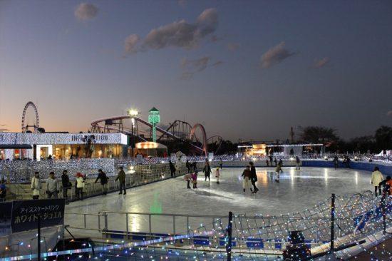 アイススケートも楽しめる