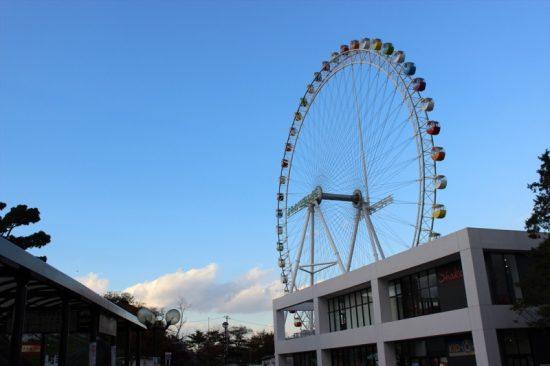 よみうりランドの象徴ともいえる大観覧車