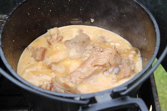 短時間でできるのがダッチオーブンの魅力