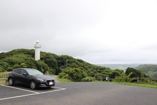 房総半島や太平洋が一望できる高台。周囲は南房総国定公園に指定されている