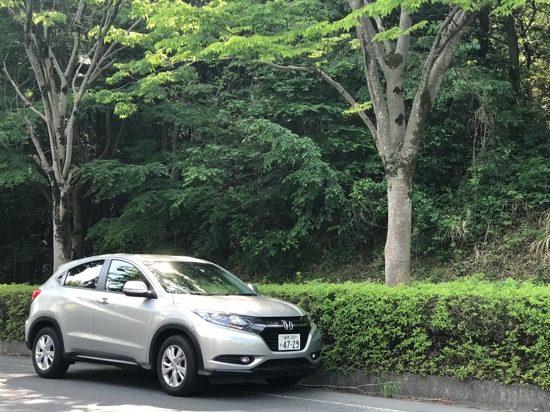 コンパクトなので運転しやすい上に、山道もしっかり走る「ヴェゼル」
