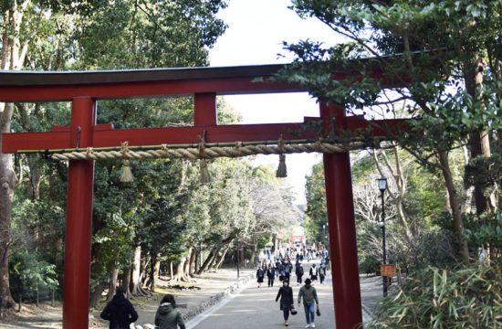 鶴岡八幡宮を抜けて北鎌倉へ