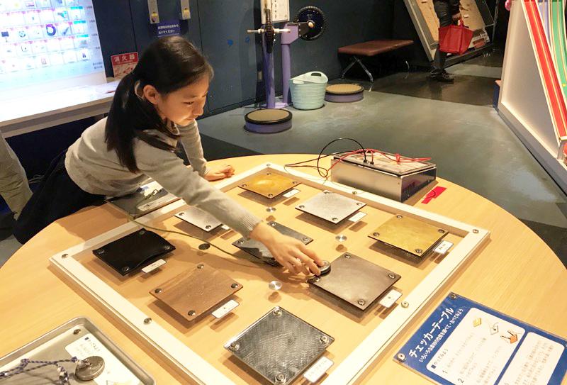 電気は通るかな?磁石はくっつくかな?いろいろな材質のものを比べてみよう。